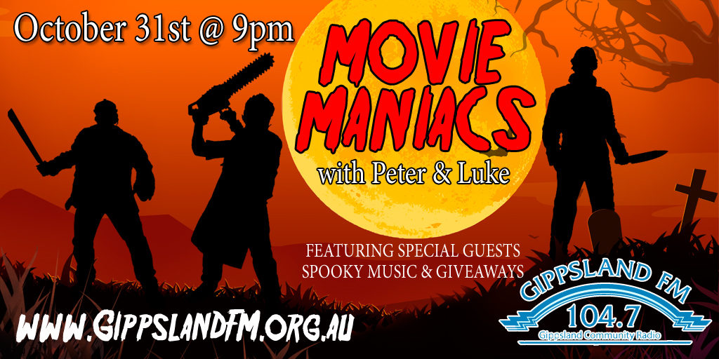 Peter Thain of Movie Maniacs interviewing Ashley Wincer